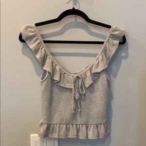 Sleeveless Crop Top shirt